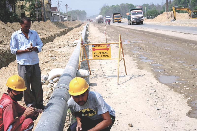 Oil pipeline to be extended to Lothar, Chitwan
