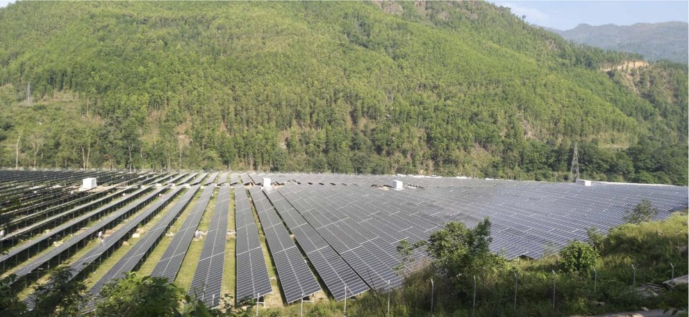 Largest solar power project of Nepal